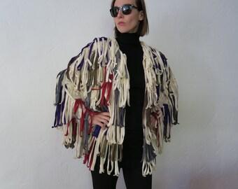 SALE Fringe jacket