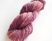 SALE - Handspun Yarn - Summer Wine - Hand Dyed Merino Wool - Plant Dyed - Handspun Yarn UK