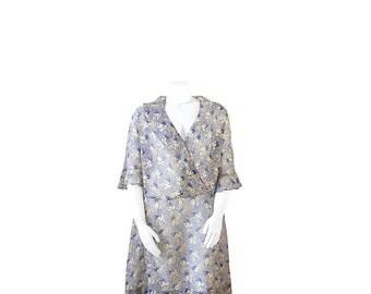 1920s Dress • 20s Plus Size Dress • Art Deco Day Dress •  XL XXL