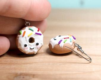 Glazed Donuts - Kawaii Dangle Earrings