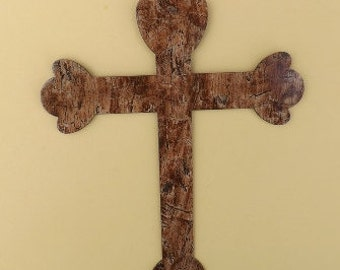 Metal art Cross, Hydrographic, Hydro dipping, Hydro Graphic Metal Art, Religious Cross