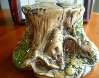 Royal Doulton Brambly Hedge Store Stump Money Box DBH18 - 1st Quality - Excellent Condition