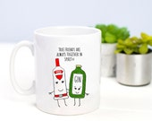 Friendship Mug, Gin, Vodka, Mug, Best Friend Gift, Funny Mug, Gin Mug , Gin & Tonic, Gin Gift, Friendship Quote, Friends, Quote, Friend Gift