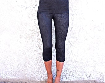Sheer Leggings, Lace Leggings, Black Yoga Leggings, Burningmen Clothing, Sexy Black Leggings