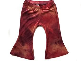 Velvet Sunset Bells. Bell Bottom Girls Pants. www.brownsugarbeach.com