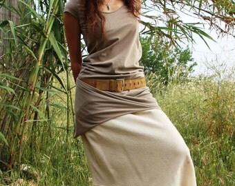 Raw silk skirt, off white natural skirt, long skirt slip, skirt extender slip, ruffle skirt extender, natural maxi skirt, under wear skirt