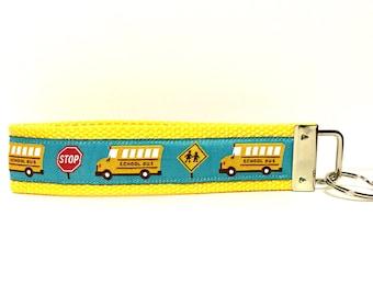 School Bus Keychain School Bus Key chain Gift for School Bus Driver Back to school Gift School Bus Driver Appreciation Christmas Gift for