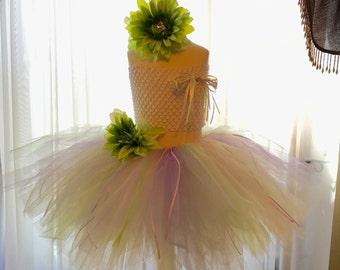 Tutu - New Spring Tutu with top and matching headband