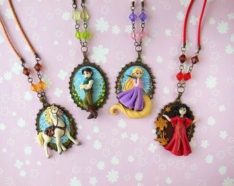 Tangled Cameo Collection
