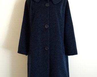Felted wool coat | Etsy