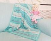 Dinky Dot Crochet Blanket Pattern Baby blanket pattern baby blanket crochet pattern Easy crochet pattern Instant download crochet Pattern