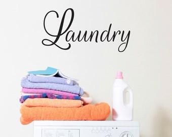 Laundry Room Decor, Laundry Room Quotes, Laundry Room Sign, Home Decor, Wall Sticker