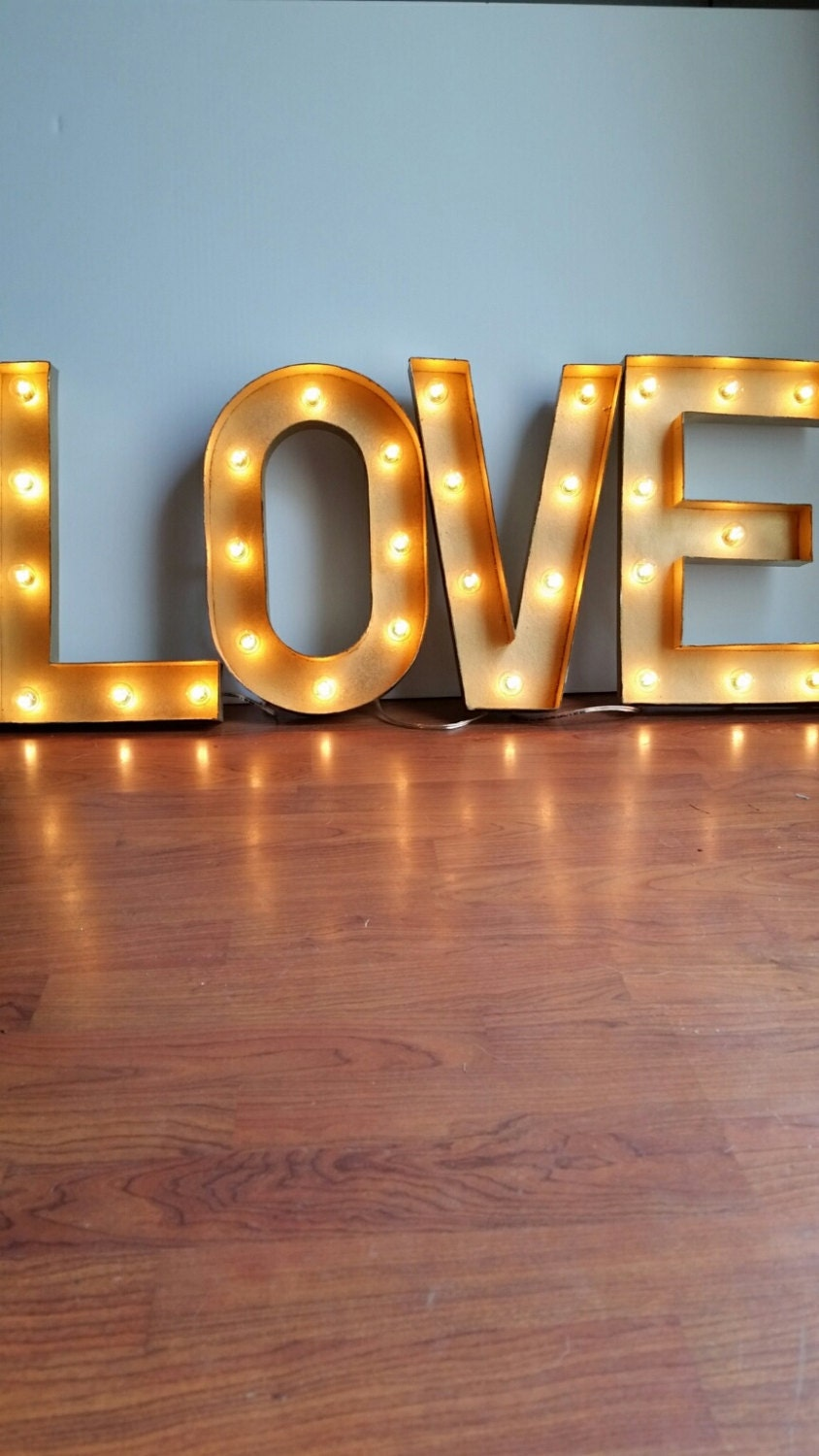 marquee light up letters 16 light up gold letters marquee sign 23581 | il fullxfull.1014862521 tevk