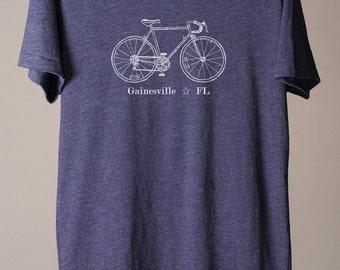 bike tee, gift for cyclist, gift for bike lover, cycling club tee, city bike tees