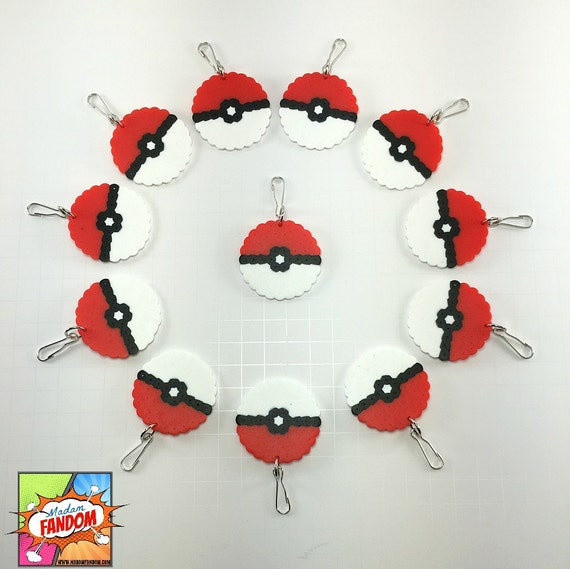 keychains clips pokemon birthday favors pokemon baby shower favors