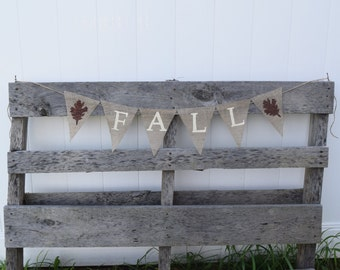 Fall Banner- Thanksgiving Banner- Fall Decor- Thanksgiving Decor- Fall Decoration- Custom Burlap Banner- Fall Garland- Autumn Banner