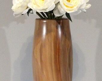 Sweet Gum Flower Vase w/ glass insert