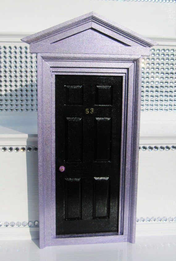 Fairy door with fairy key and fairy dust by for Fairy door with key