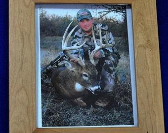 Husband Gift ~ Gift For Dad ~ Hunting Gift ~ Engraved Hunting Frame ~ First Buck Frame ~ Birthday Gift Guy ~ Deer Hunting ~ Hunting Frames ~
