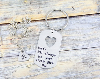 Christmas Gift for Dad - Daddy Daughter Gift - Father Daughter Gift - Dad Gift - Daddy Gift - Gift for Dad - New Dad Gift - Dad Keychain