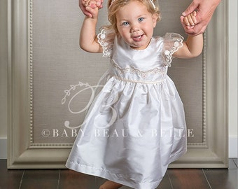 Christening Dress, Scarlett Dress and Bloomers