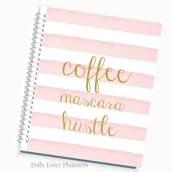 2018 2019 planners daily planner personalized planner for Custom photo planner