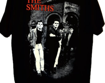 The Smiths Men T-Shirt, The Smiths, Morrissey, Alternative Rock, 80's Rock