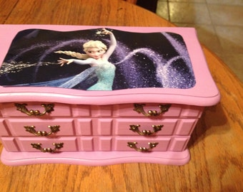 Frozen Jewelry Box - Choose Any Character for your Box