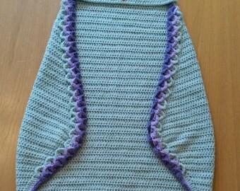 Owl Hooded Wrap Blanket