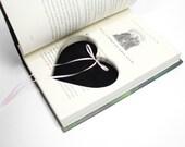 Ring Holder Harry Potter Engagement Proposal Idea Handmade Box Heart Shaped Custom Color Ribbon Hollow Book Pillow Wedding - CUSTOM ORDER