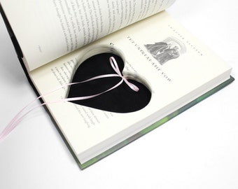 Ring Holder Harry Potter Engagement Proposal Idea Handmade Box Heart Shaped Custom Color Ribbon Hollow Book Pillow Wedding - CUSTOM ORDER