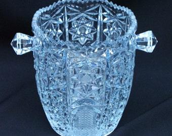 Italian Lead Crystal Ice Bucket