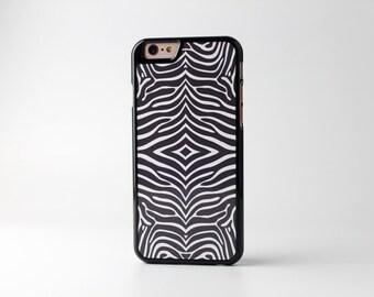 Black iPhone 6 case iPhone 6s case Black Eublepharis - HTPB6002
