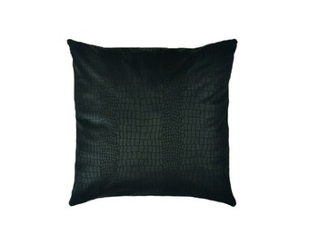 Black pillow,home decor,decorative pillow,free shipping,pillow case,cotton pillow,housewares,hand made pillow,pillow covers,pillows