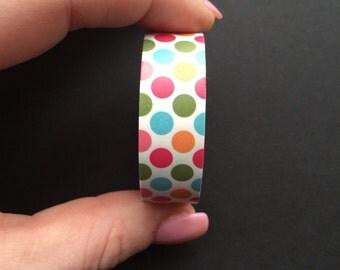 Polka dot washi tape
