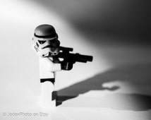 Star Wars™ LEGO® Stormtrooper 'Dark Side' Photograph Print 7x5, 8x10 or 20x16 Wall Art Home Decor