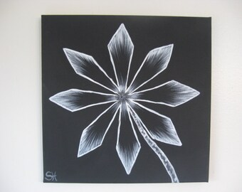 Moonflower Series Painting 2