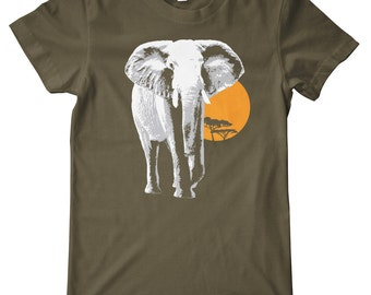 Elephant American Apparel T-Shirt