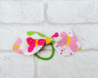 Knotted Bow Hairband, Butterfly hairband, Hair Tie, Hair Accessories, Christmas Stocking Filler, Handmade in the UK