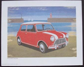 Red Mini Martin Wiscombe Print