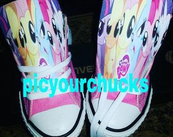 Toddler/Kids My Little Pony Custom Converse