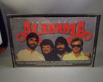 Alabama - The Touch Music Cassette