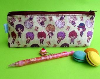Cute Diabolik Lovers Pencil Case Zipper Pouch Bag Pen Box School Anime