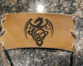 Celtic Dragon Bracer