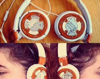 BB-8 headphones (StarWars)