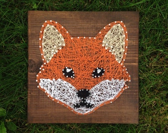 MADE TO ORDER- Fox String Art