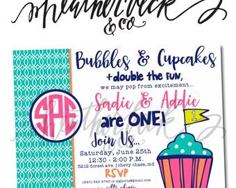 mcdonalds birthday Invitation