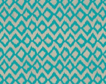 Hummingbird Garden by Sadie for Clothworks Textiles Y1653-104 Teal