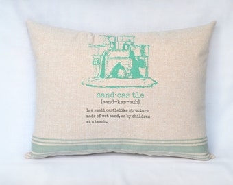 Sandcastle Pillow