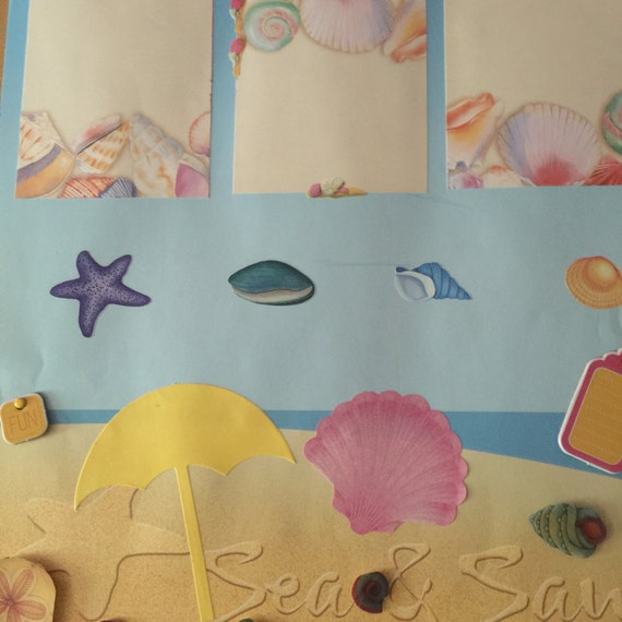 Scrapbooking: Searching Sand